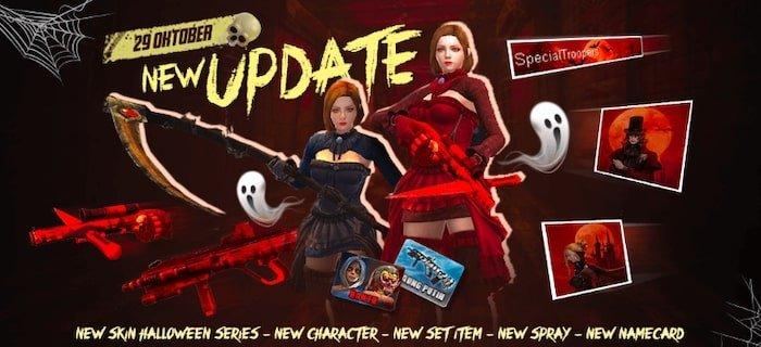 point blank zepetto update oktober 2019 halloween