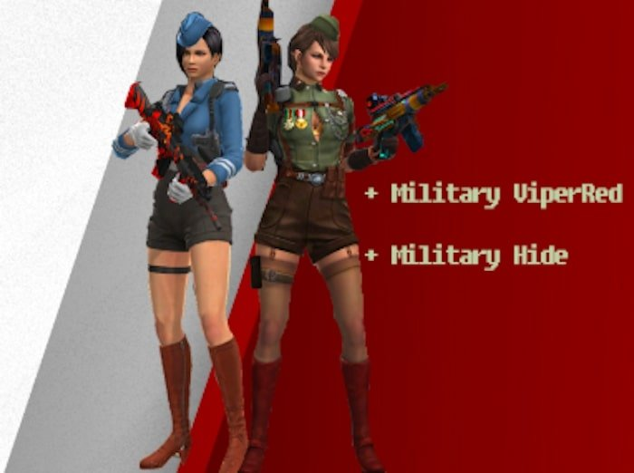 point blank zepetto update oktober 2019 military viperred hide