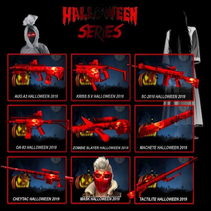point blank zepetto update oktober 2019 weapon halloween series