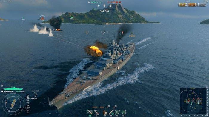 world of warships battle