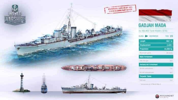 world of warships kri gadjah mada