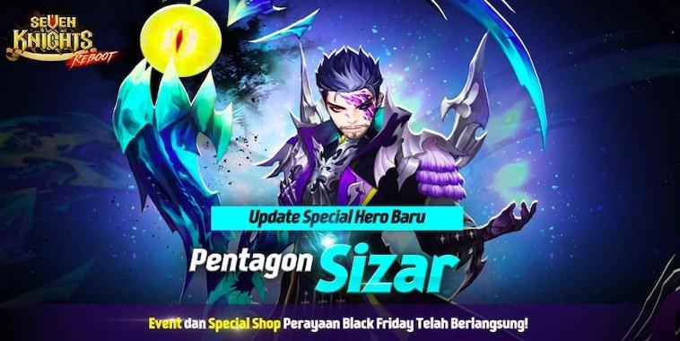 seven knights hero sizar
