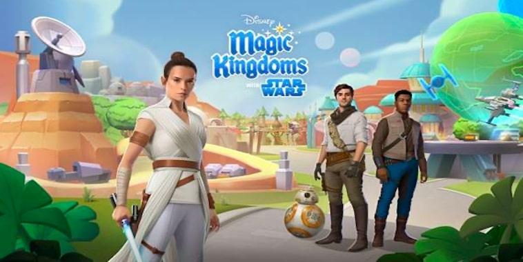 Disney Magic Kingdoms Rilis Update Star Wars