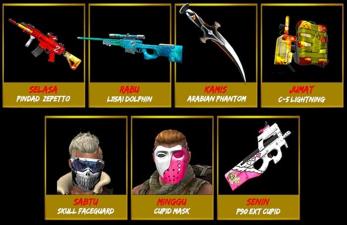 point blank zepetto event desember 2019 login time