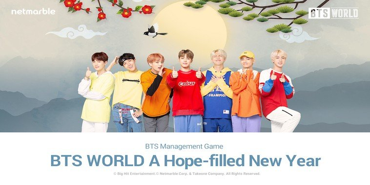 BTS WORLD Rilis Update Seollal