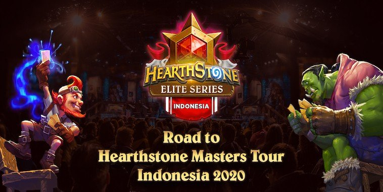 hearthstone elite series road to masters tour indonesia 2020