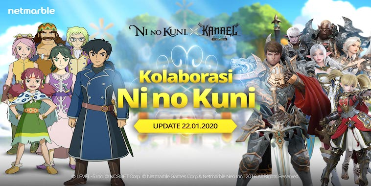lineage 2 revolution update kolaborasi ni no kuni ii revenant kingdom