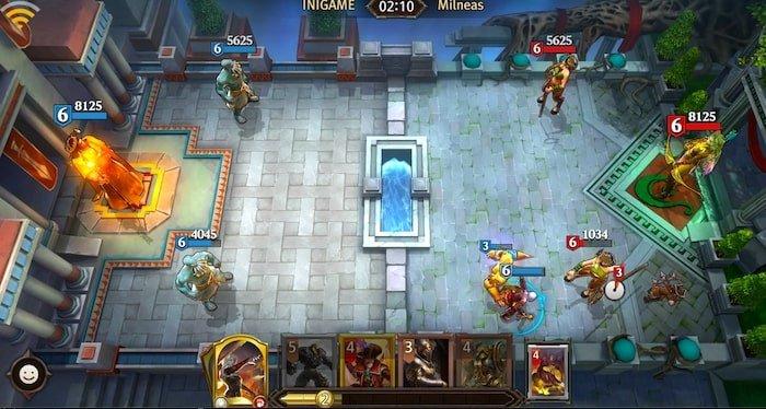 magic manastrike battle gameplay