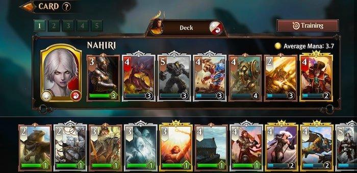 magic manastrike card deck