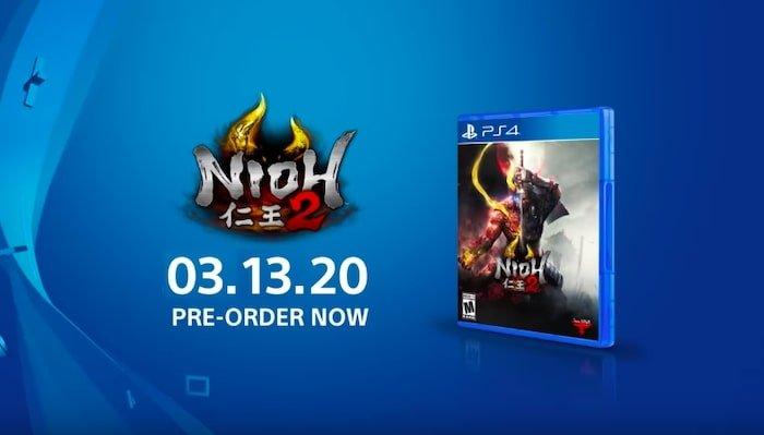 nioh 2 pre order