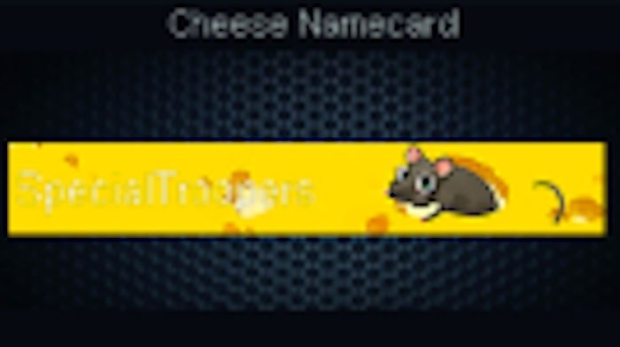 point blank zepetto cheese namecard