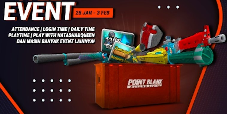 point blank zepetto event januari 2020