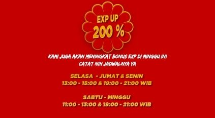 point blank zepetto event januari 2020 exp 200 persen