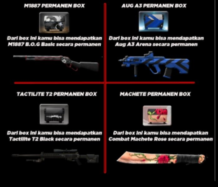 point blank zepetto m1887 aug a3 permanen box