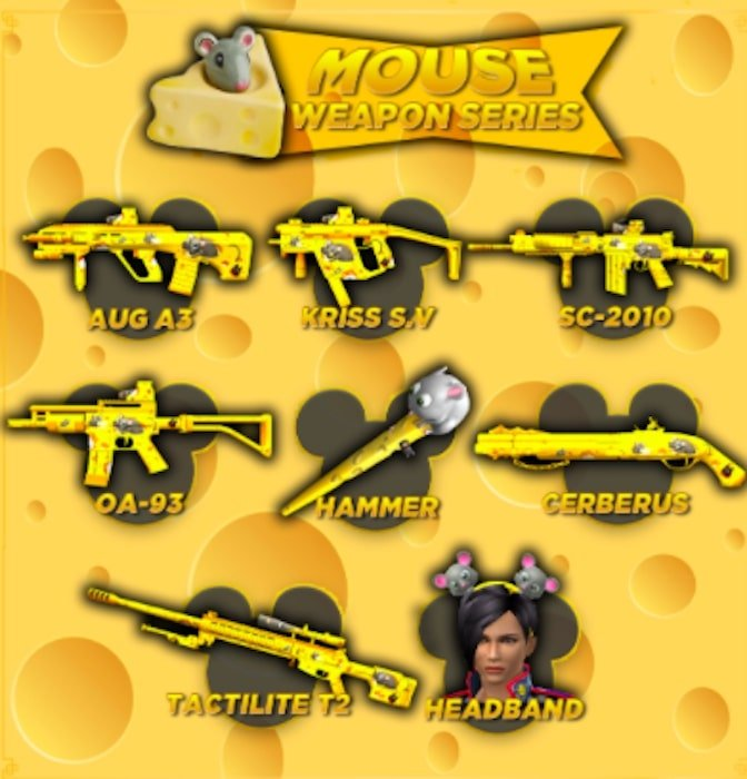 point blank zepetto mouse weapon series