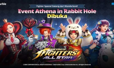 the king of fighters allstar update in wonderland