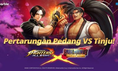 the king of fighters allstar kolaborasi samurai shodown