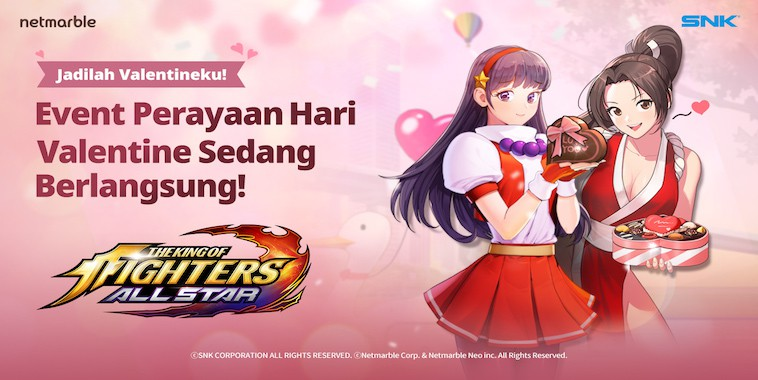 THE KING OF FIGHTERS ALLSTAR Rilis Update Valentine