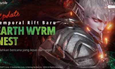 lineage 2 revolution update dungeon earth wyrm nest