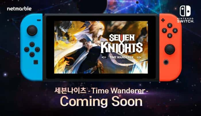 seven knights time wanderer nintendo switch coming soon