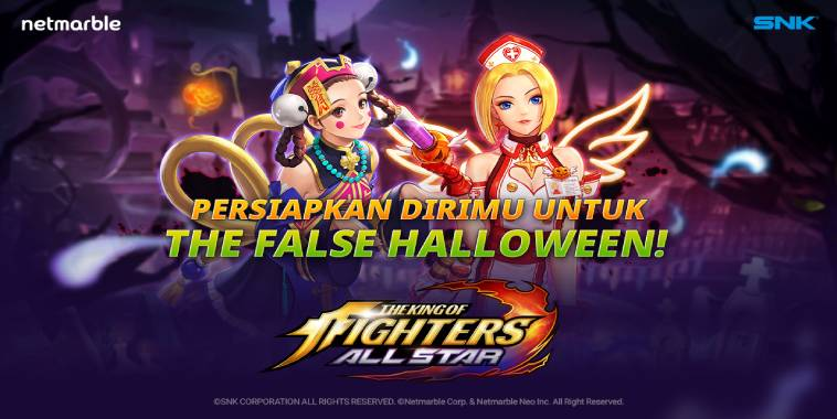 THE KING OF FIGHTERS ALLSTAR Rilis Update False Halloween