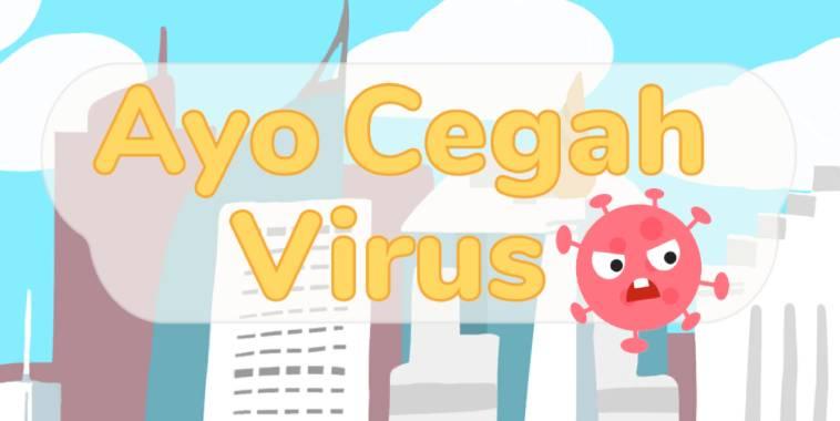 ayo cegah virus game
