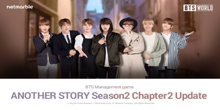 BTS WORLD Rilis Update Chapter Another Story Season 2
