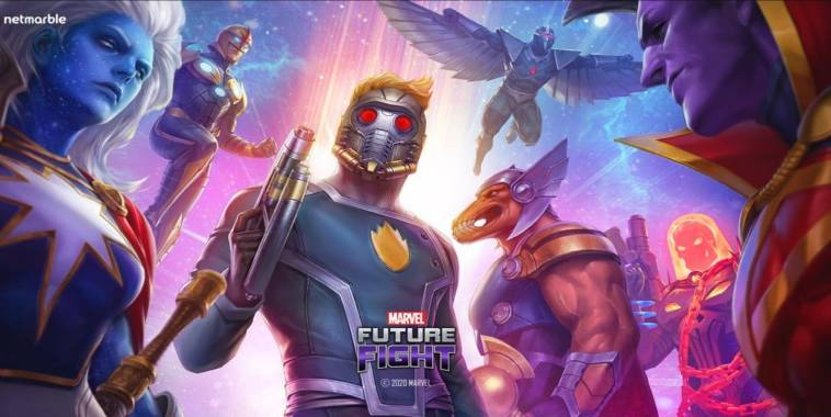 marvel future fight update guardians of the galaxy