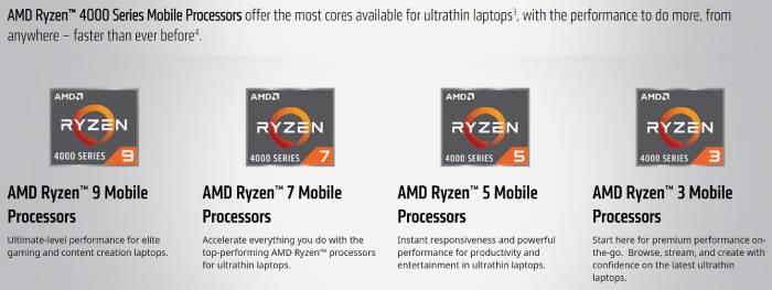 amd ryzen 4000 series mobile lebih cepat dari sebelumnya