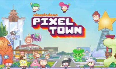 nickelodeon pixel town