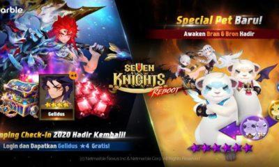 seven knights update hero gelidus pet awaken bran bron