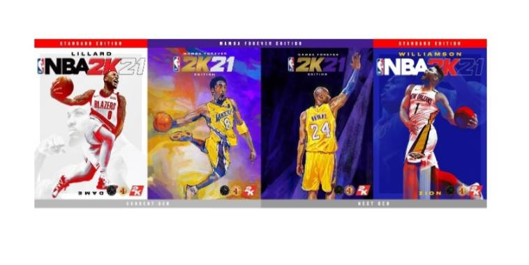 nba 2k21 cover athlete