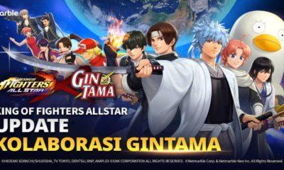 the king of fighters allstar kolaborasi gintama