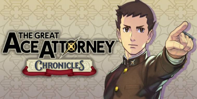 The Great Ace Attorney Chronicles Logo